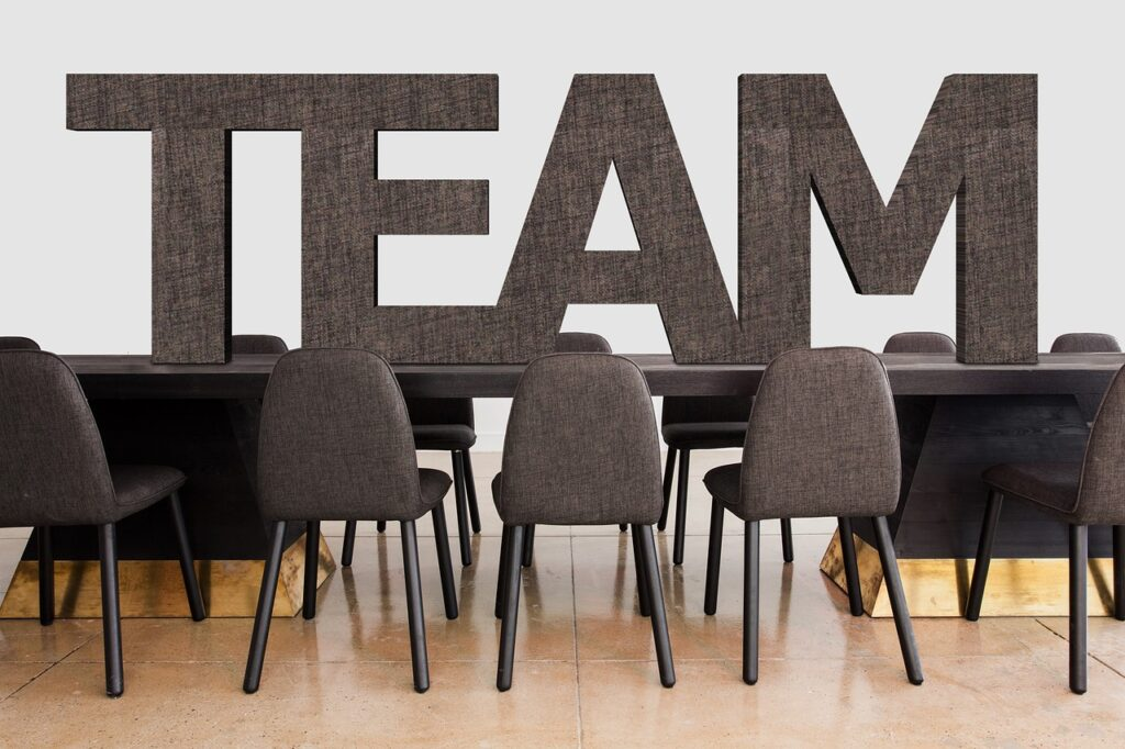 conference, team, office